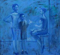Katarzyna Karpowicz: Niebieski