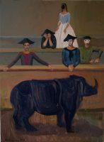 Katarzyna Karpowicz: Nosorożec w Wenecji - transpozycja obrazu Pietro Longhi
