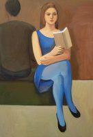 Katarzyna Karpowicz: Blue thoughtfulness