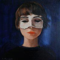 Katarzyna Karpowicz: Selfportrait, 2000