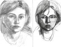 Katarzyna Karpowicz: Double selfportrait