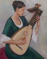 Katarzyna Karpowicz: The girl with a lute