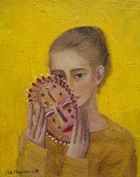 Katarzyna Karpowicz: Girl and mask