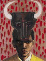 Katarzyna Karpowicz: Mężczyzna z maską byka