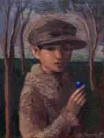 Katarzyna Karpowicz: Chłopiec z niebieską kulką