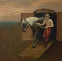 Katarzyna Karpowicz: Boy with horse