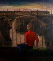 Katarzyna Karpowicz: Pociąg za murem zoo