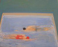 Katarzyna Karpowicz: Couple in the pool