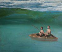 Katarzyna Karpowicz: Harold and Ernest fishing