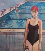 Katarzyna Karpowicz: Self-portrait with pool