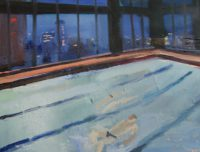 Katarzyna Karpowicz: Swimming pool in NY