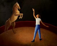 Katarzyna Karpowicz: Girl and a horse