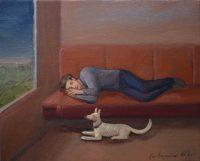 Katarzyna Karpowicz: White dog