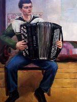 Katarzyna Karpowicz: Andrzej with accordion