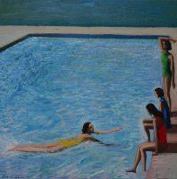 Katarzyna Karpowicz: The girls by the swimming pool