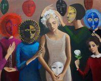 Katarzyna Karpowicz: Młoda kobieta i maski
