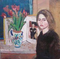 Katarzyna Karpowicz: Self portrait with Beckmann