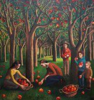 Katarzyna Karpowicz: Sad jabłkowy