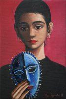 Katarzyna Karpowicz: Niebieska maska