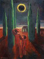 Katarzyna Karpowicz: Father and Daughter, Sun Eclipse