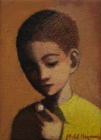 Katarzyna Karpowicz: Little Boy in Yellow Sweater
