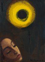 Katarzyna Karpowicz: Girl and Sun Eclipse