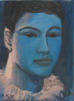 Katarzyna Karpowicz: Blue Portrait