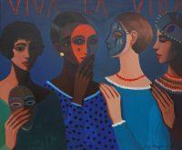 Katarzyna Karpowicz: Viva la vida, kobiece maski