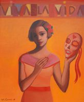 Katarzyna Karpowicz: Viva la vida z maską meksykańską